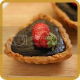 Soft Chocolate and Strawberry Tart
