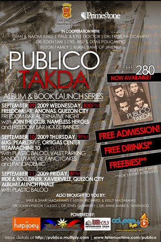 Publico Album Launch Poster 090209-1
