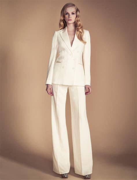 cream suits  women suit la