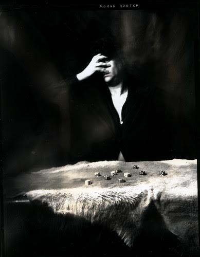 spirit photograph - peek