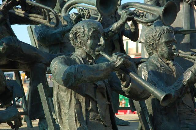 Musicians Sculpture at Costa Brava [enlarge]