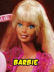 1980 Barbie selection from mattel