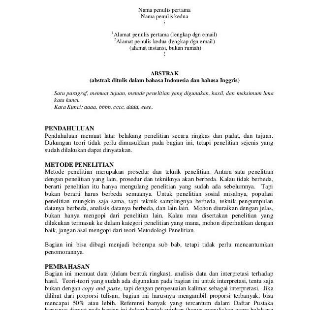 Contoh Latar Belakang Skripsi Bahasa Indonesia - Kumpulan ...