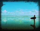 Surfer Contemplations 9x12