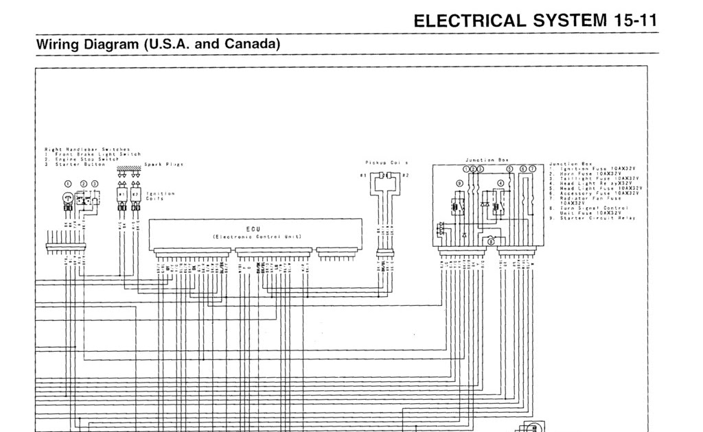 2006 Kawasaki Mean Streak Wiring Diagram Schematic