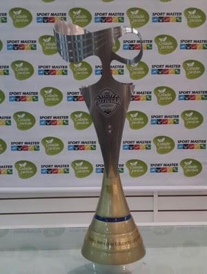 Troféu do Campeonato Potiguar homenageia Arena das Dunas (Foto: Divulgação)