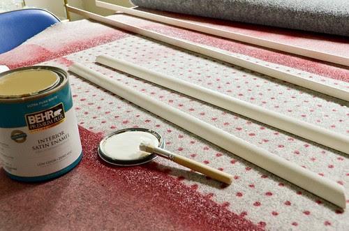 Step 4: Paint Moulding