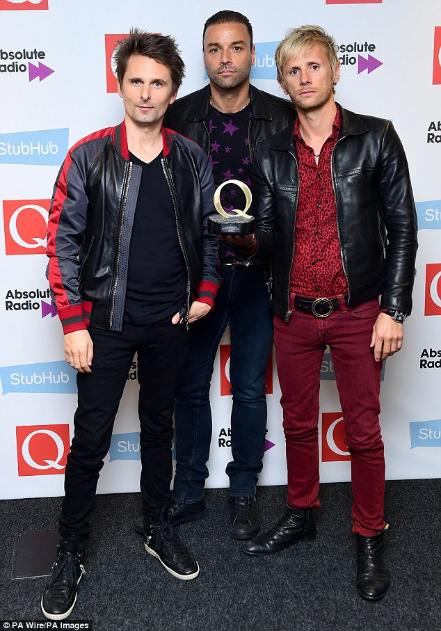 They're simply the best: The British rockers were named Best Act In The World Today