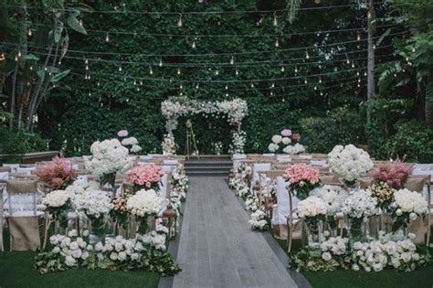 Rustic Elegant Outdoor Ceremony   Luxe, Garden Inspired
