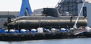 Greek submarine S-120 Papanikolis (214 type) a...