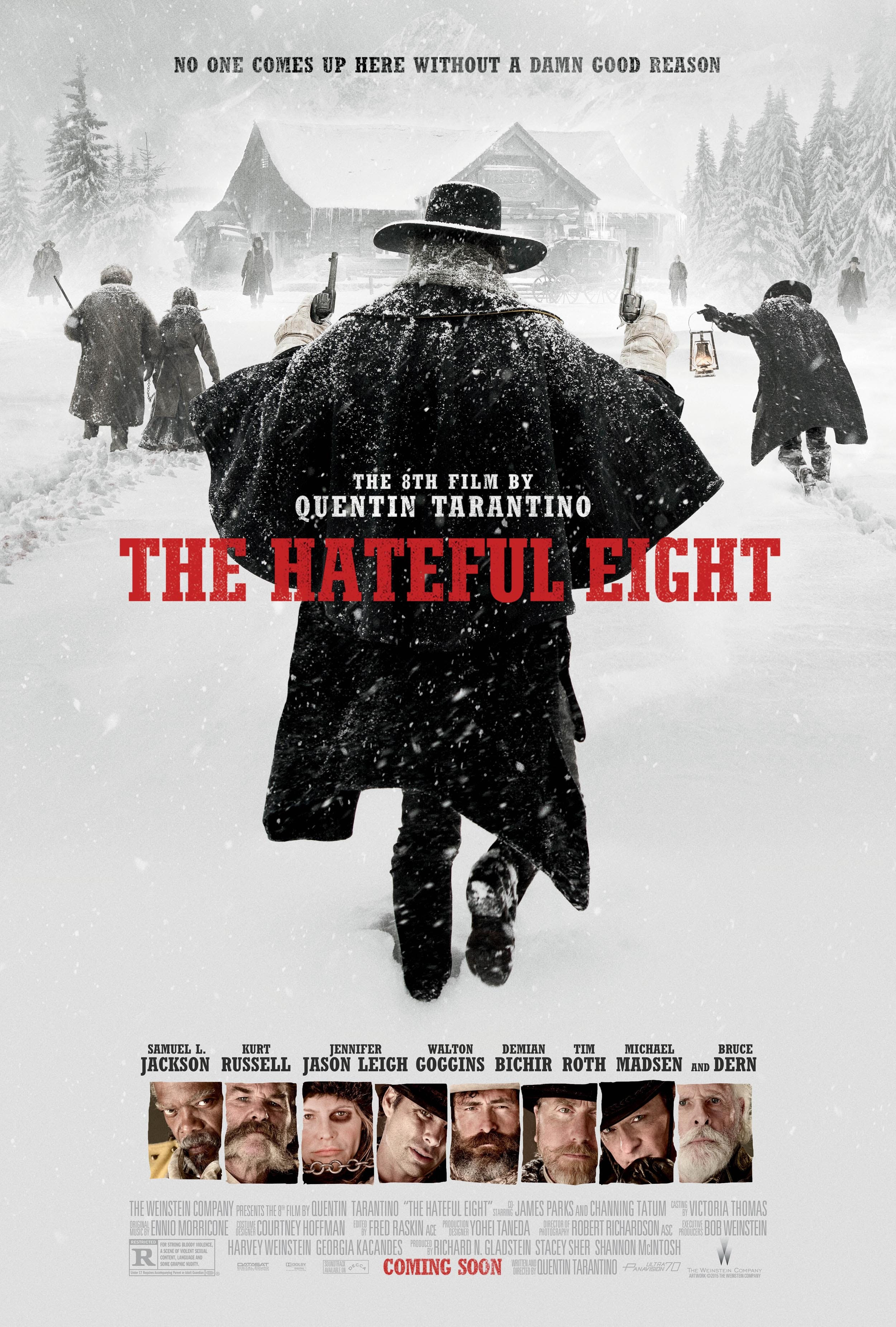 the hateful eight poster tarantino