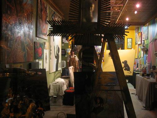 Artist's studio, Greenwood Ave.