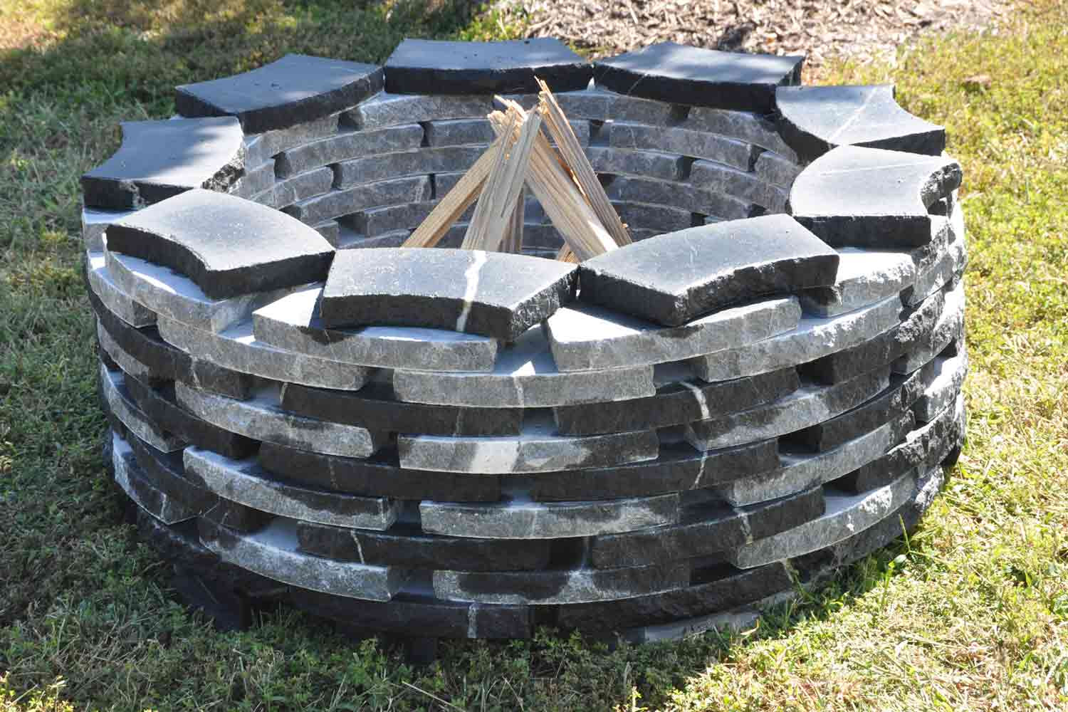 Natural Stone Fire Pit Installers Richmond Va