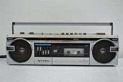 Sanyo Stereo Boombox AM FM Radio Cassette Deck Tape Player M7110
