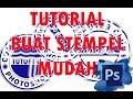 Cara Membuat Tulisan Melingkar Di Photoshop Untuk Desain Stempel Dan Logo + Video Tutorial