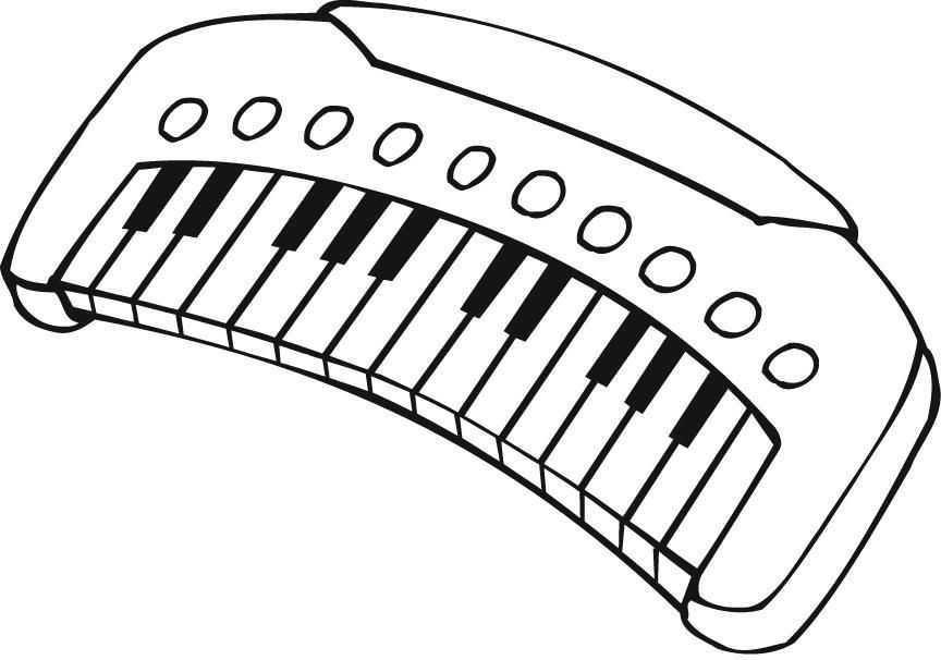Müzik Aletleri Boyama Sayfaları Okul öncesi Etkinlik Faliyetleri