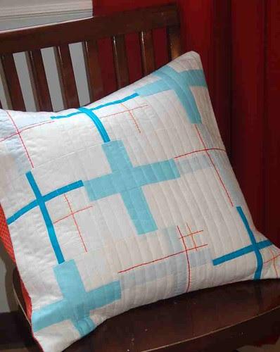 Life Aquatic Pillow - { Urban } homes - a Modern Swap