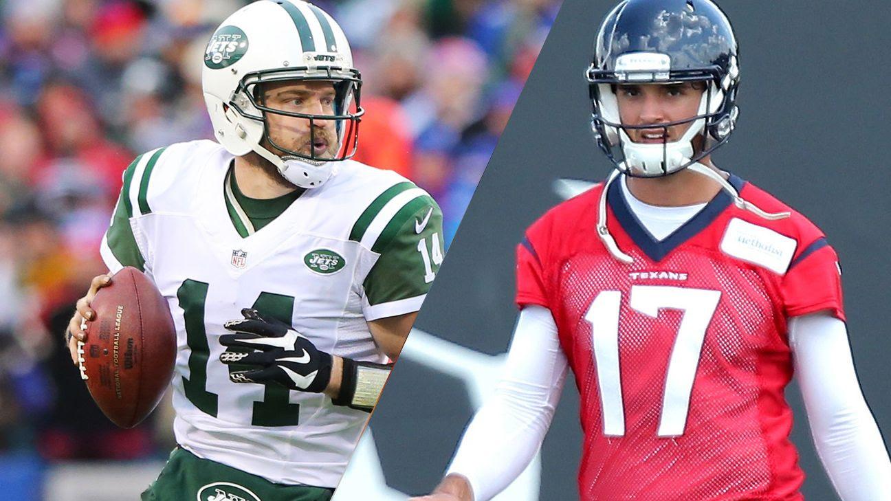 NFLs 20 most impactful offseason moves for 2016  New York Jets QB Ryan Fitzpatrick, Houston