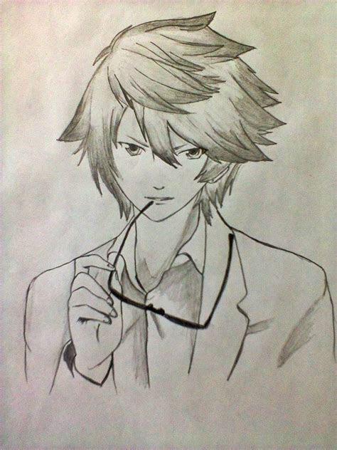 image  anime  manga cool anime guy drawingjpg