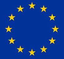 EU flag square