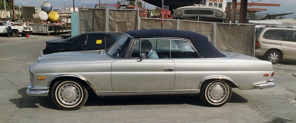 IMCDb.org: 1969 Mercedes-Benz 280 SE Convertible W111 in ...