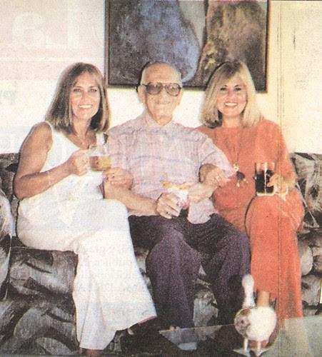 Guido Monteverde e hijas 1996