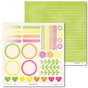 Papier 30 x 30 cm - Easter Bunny - 02 - Laserowe LOVE