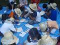 20080815-75夏キャン(山中野営場)団扇作り