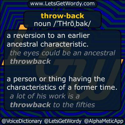 throwback 11/19/2014 GFX Definition