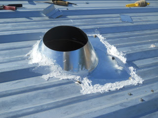 Another View of Stove Pipe Collar