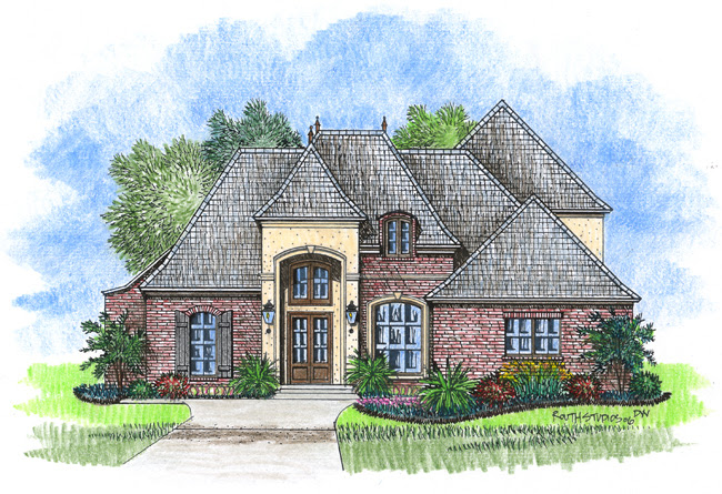 Over 3000 Sq Ft Acadiana Home Design