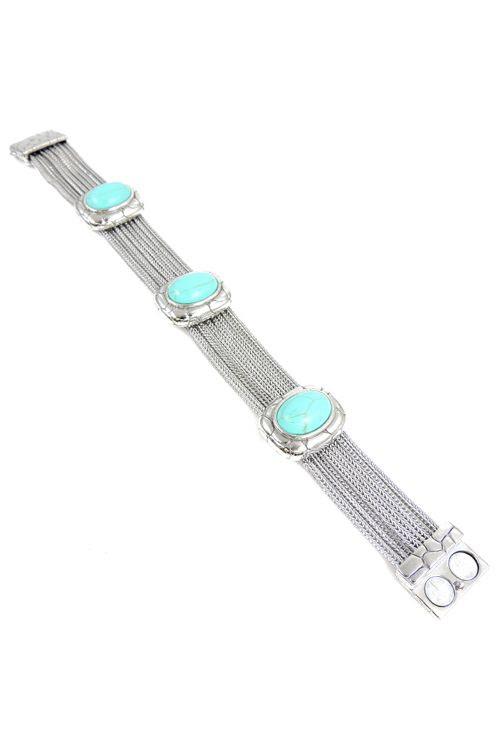 Blair Bracelet in Turquoise