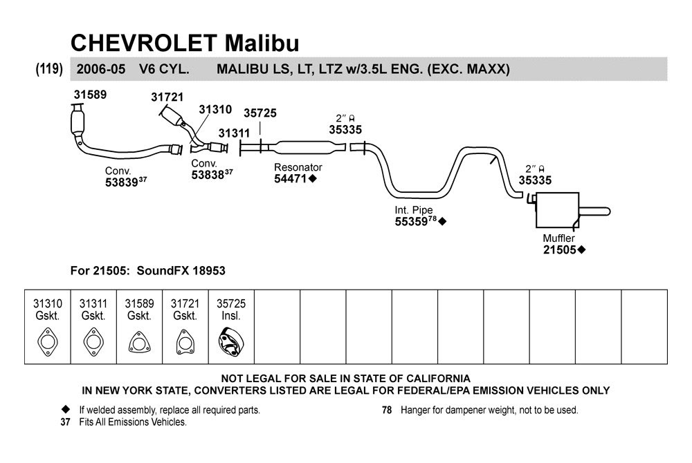 2001 Chevy Impala Exhaust System Diagram Wiring Diagram Effective A Effective A Bowlingronta It