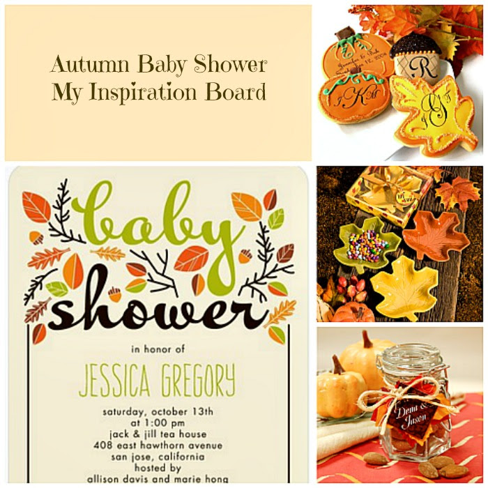 Autumn Baby Shower Inspiration Board My Practical Baby Shower Guide
