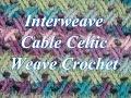 Punto Entrecruzado en Crochet o puntada celta - con Video
