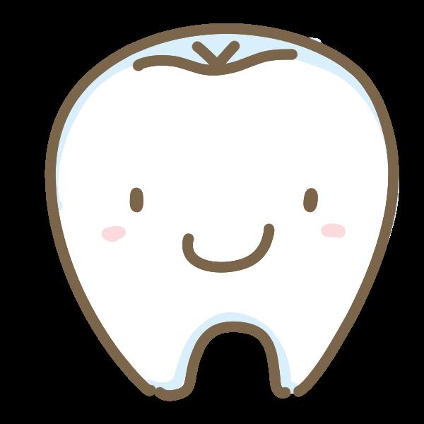 可愛い歯のイラスト かわいいフリー素材が無料のイラストレイン