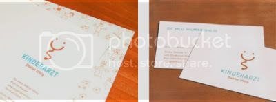 Clinic Stationary and business cards