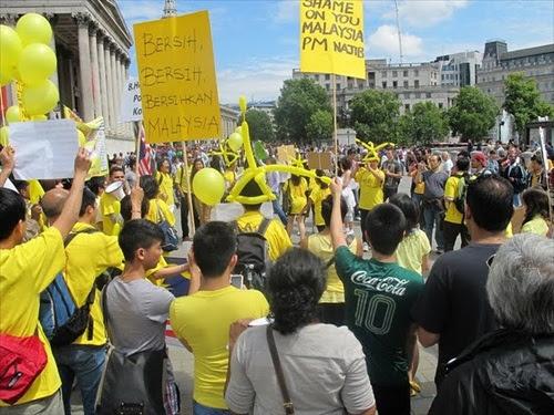 Bersih 2 - London, Britain