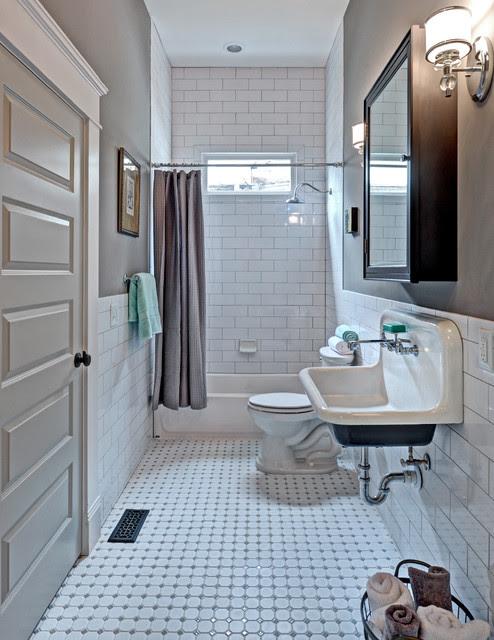 Queen Anne Bungalow Resurrection - Traditional - Bathroom ...