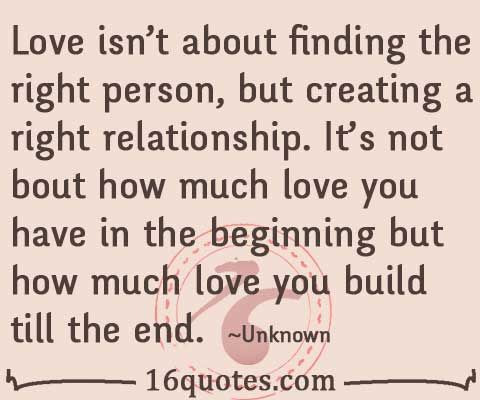 Quotes About Finding The Right Person