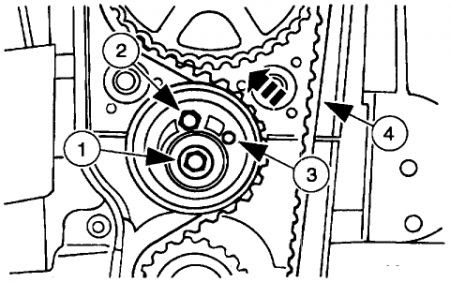 1998 Ford Escort Timing Belt: Engine Mechanical Problem ...