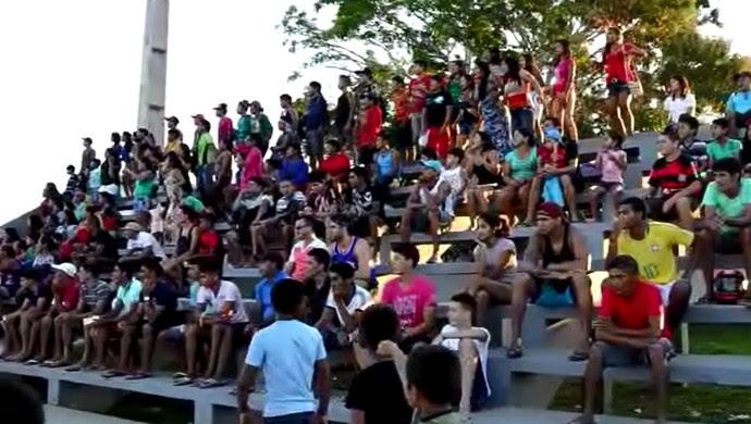 Resultado de imagem para prefeitura de tarauaca amistoso dos povos indigena est5adio naborzão