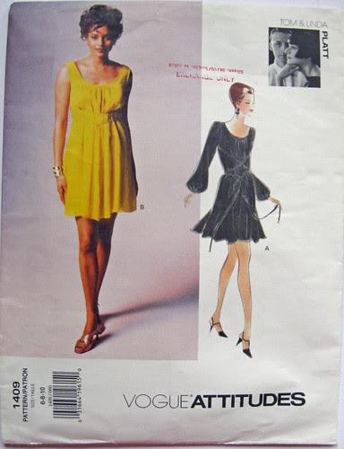V1409 Yellow dress