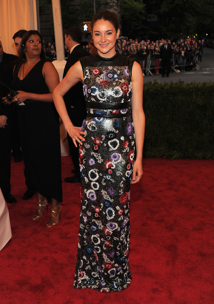 "Shailene Woodley - NY: ""Schiaparelli And Prada: Impossible Conversations"" Costume Institute Gala"