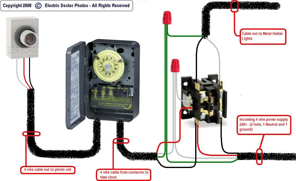 277 Volt Photocell Wiring Diagram Wiring Diagram