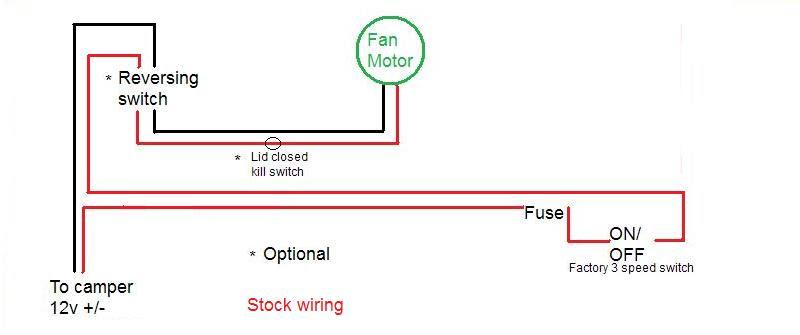 Fan Tastic Vent Wiring Diagram