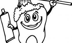 Diş Sağlık Boyama Sayfası