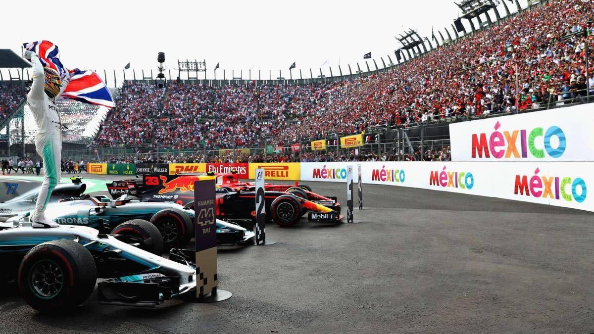Revelan cartel del Gran Premio de México 2018