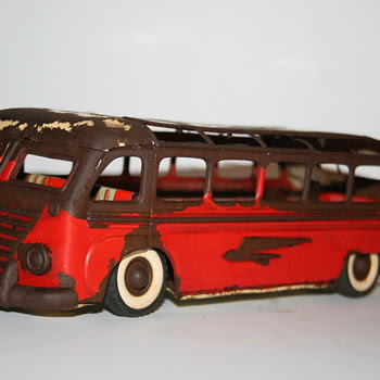 SG Gunthermann autobus pullman wind up toy