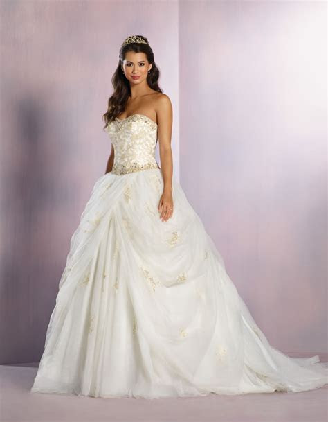 Beauty and the Beast inspired wedding dresses   Wedding
